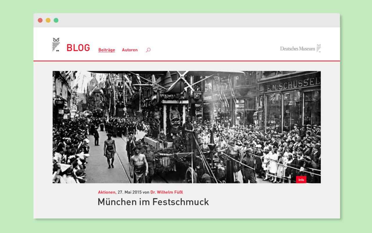 Katrin Behrens Deutsches Museum München, Blog