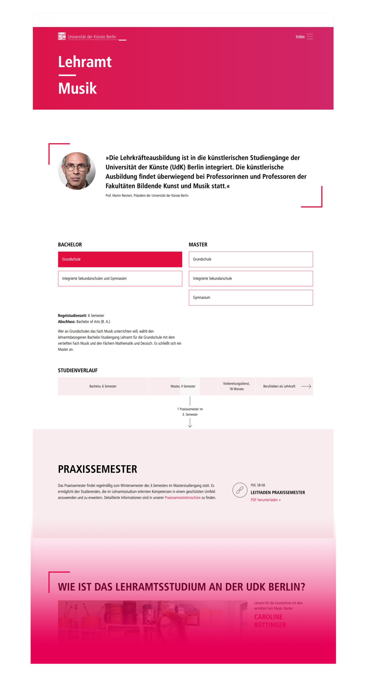 Katrin Behrens Universität der Künste Berlin – Lehramtskampagne